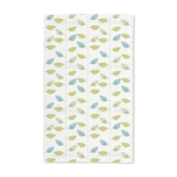 Leaf on Strings Hand Towel (Set of 2)