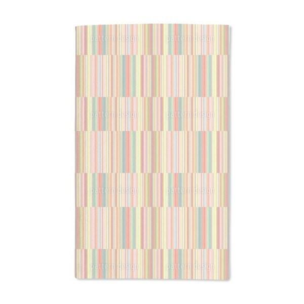 Multicolor Offset Stripes Hand Towel (Set of 2)
