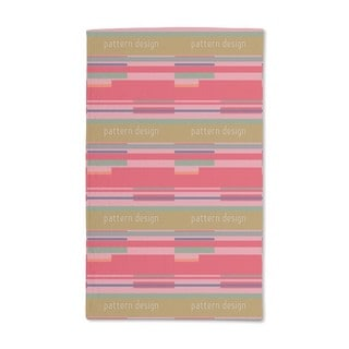 Red Stripes Hand Towel (Set of 2)