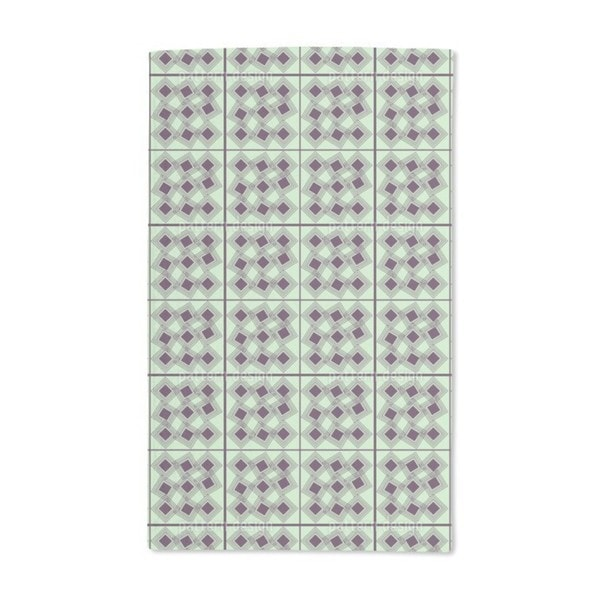 Square in Square Hand Towel (Set of 2)
