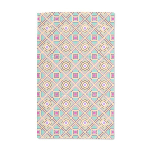 The Square Labyrinth Hand Towel (Set of 2)