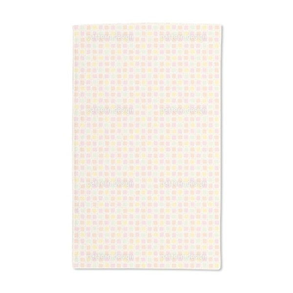 Mosaic Glass Hand Towel (Set of 2)