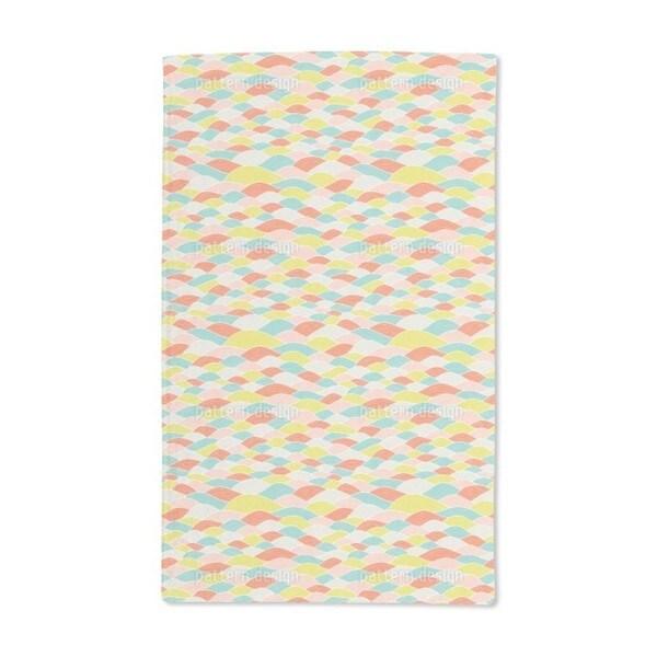 Wave Dimension Hand Towel (Set of 2)