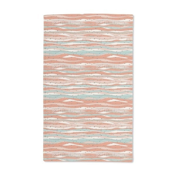 Desert and Sea Hand Towel (Set of 2)