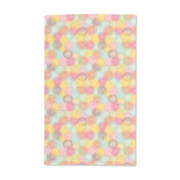 Crocheted Doilies Hand Towel (Set of 2)