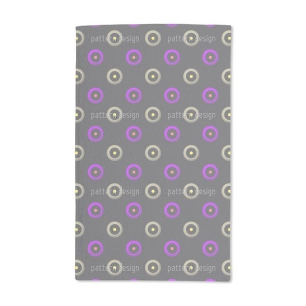 Circle Is the Target Hand Towel (Set of 2)