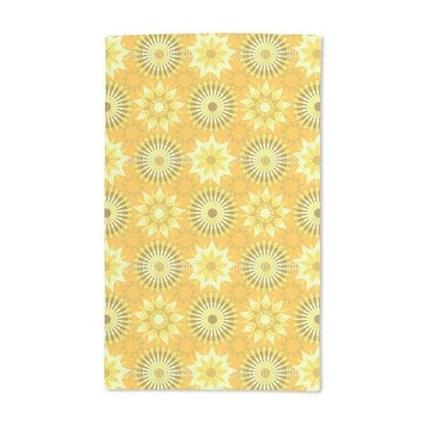 Circles in the Sunlight Hand Towel (Set of 2)