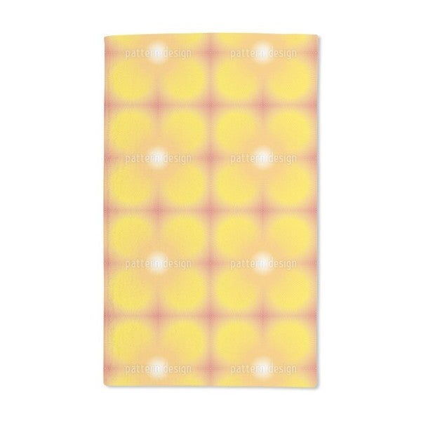 Sun Burst Hand Towel (Set of 2)