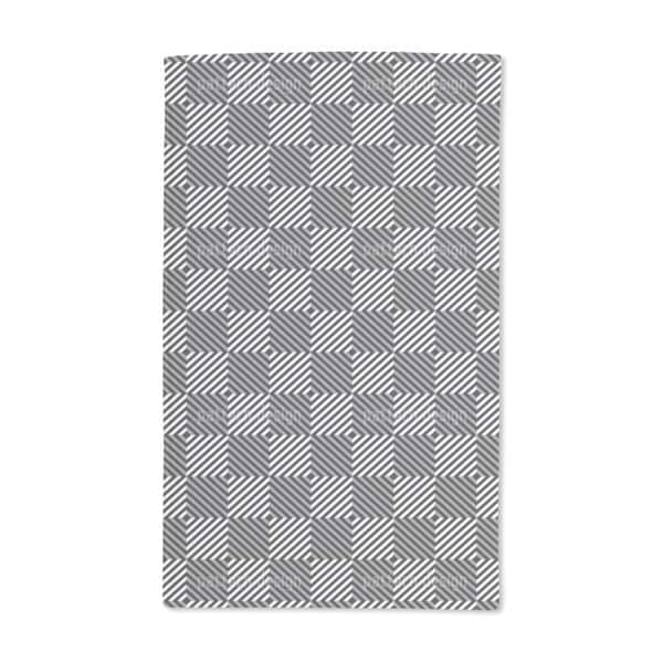 Psychedelic Chess Hand Towel (Set of 2)