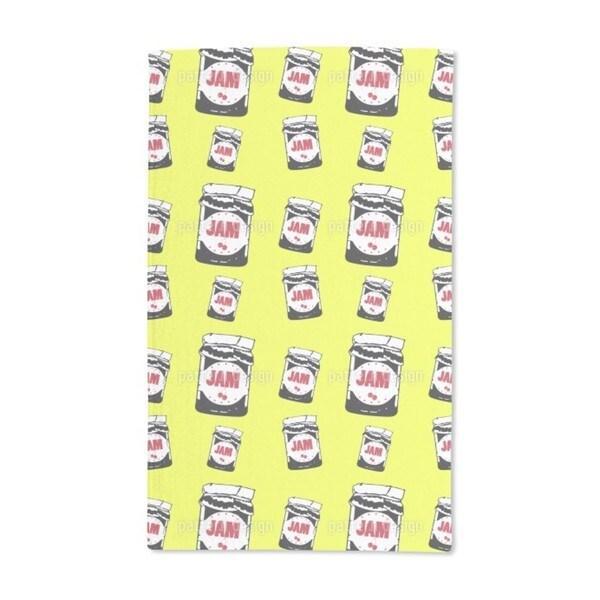 Taste the Cherry Jam Hand Towel (Set of 2)