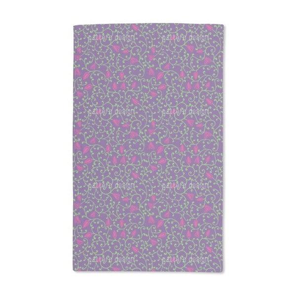 Floral Night Hand Towel (Set of 2)