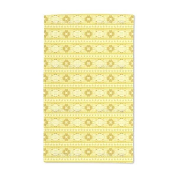 Festive Bordure Hand Towel (Set of 2)
