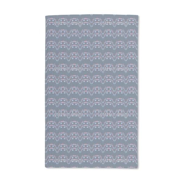 Flower Tendrils Hand Towel (Set of 2)