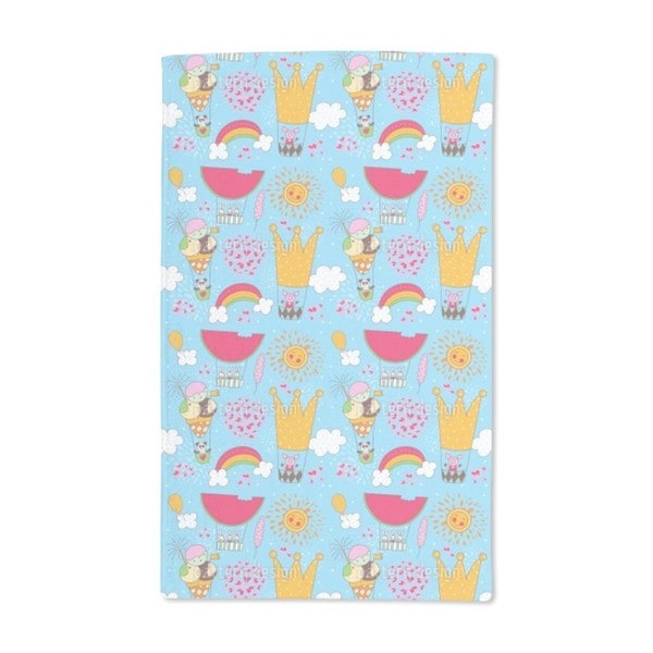 A Merry Balloon Ride Hand Towel (Set of 2)