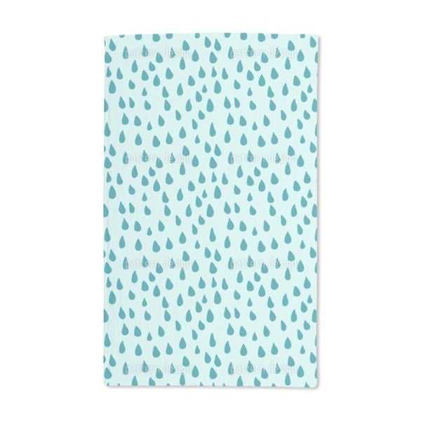 Refreshing Rain Hand Towel (Set of 2)
