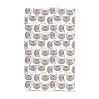 Hipster Cats Hand Towel (Set of 2)