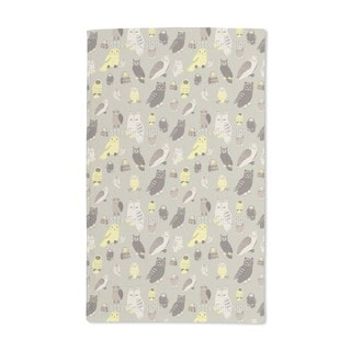 Wise Owls Hand Towel (Set of 2)