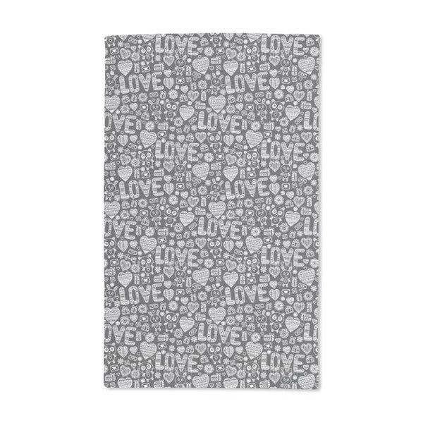 Knitted in Love Hand Towel (Set of 2)