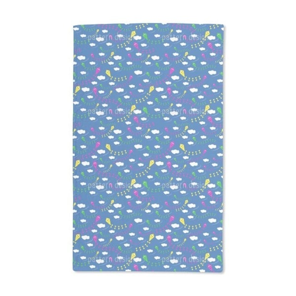 Sky Full of Kites Hand Towel (Set of 2)