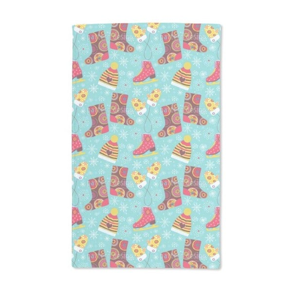 Winter Fun Hand Towel (Set of 2)