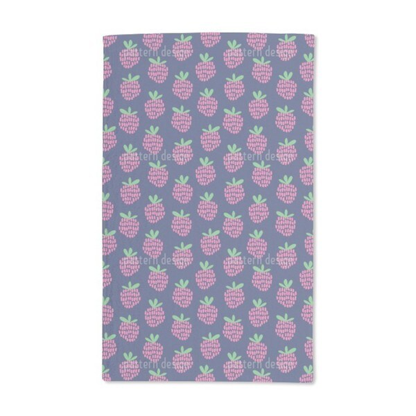Raspberries Hand Towel (Set of 2)