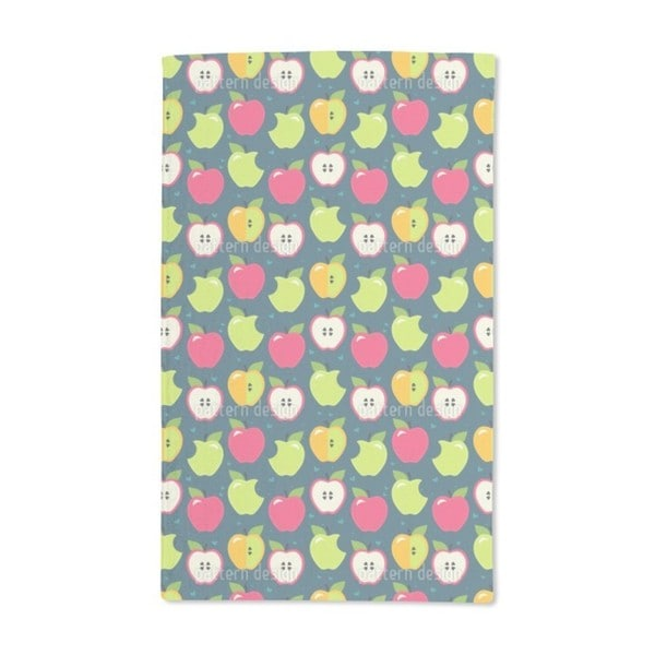 Bite the Apples Hand Towel (Set of 2)