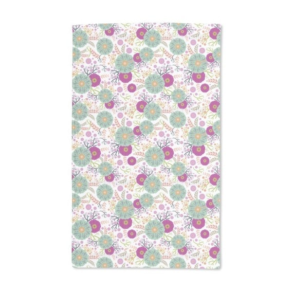 Floral Illusion Hand Towel (Set of 2)