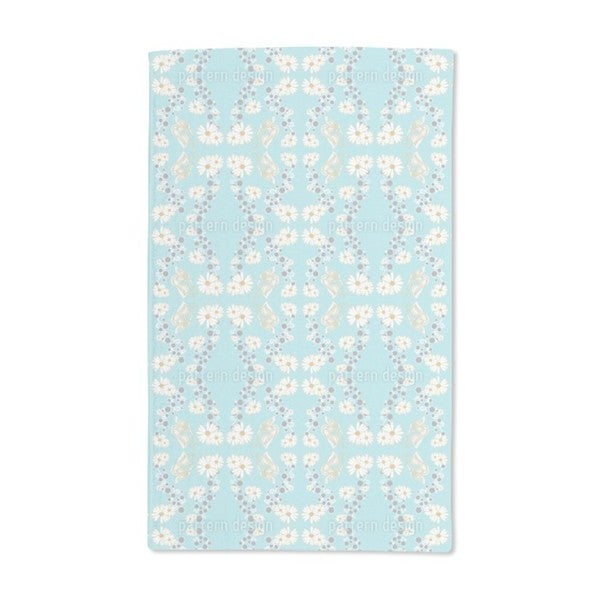Butterfly and Daisy Hand Towel (Set of 2)