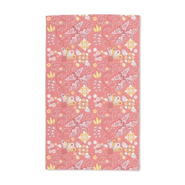 Summer Garden Dreams Hand Towel (Set of 2)