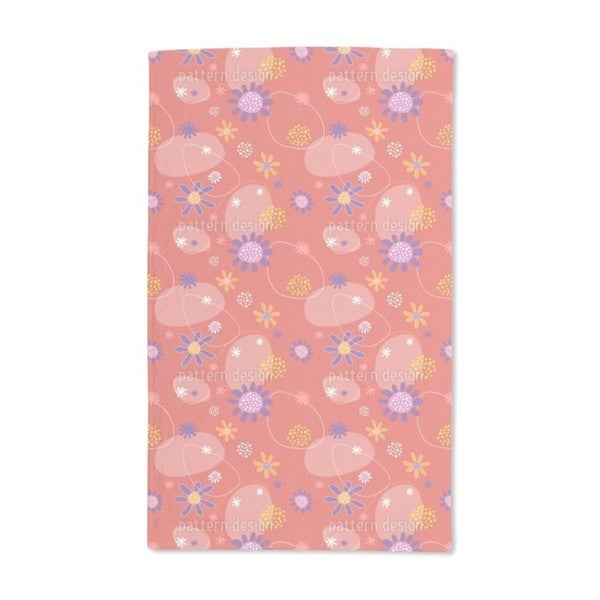 Flowers Mira Hand Towel (Set of 2)