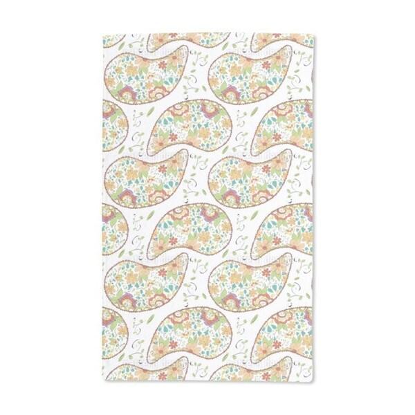Doodle Paisley Hand Towel (Set of 2)