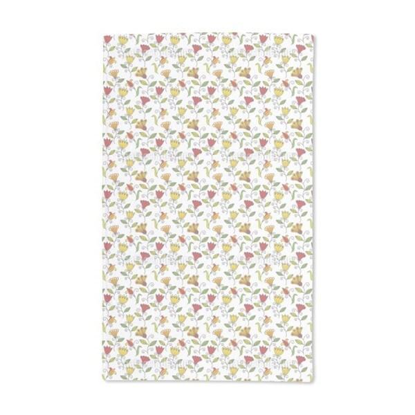 Summer Flower Joy Hand Towel (Set of 2)