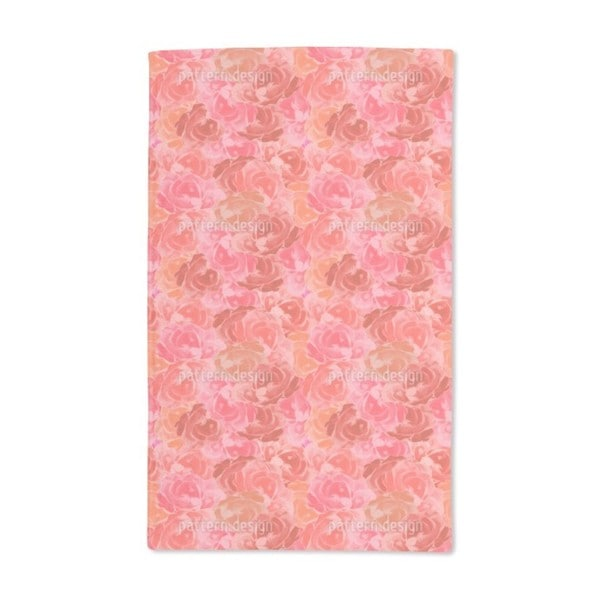 Covered With Roses Hand Towel (Set of 2)
