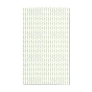 Block Print Flowers Hand Towel (Set of 2)