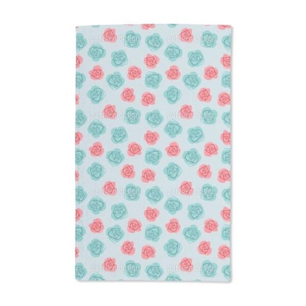 Roses Hand Towel (Set of 2)