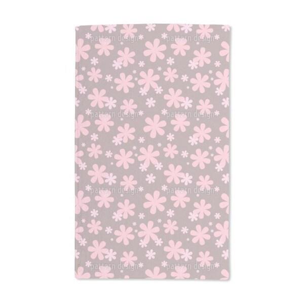 Rosis Flower Rain Hand Towel (Set of 2)