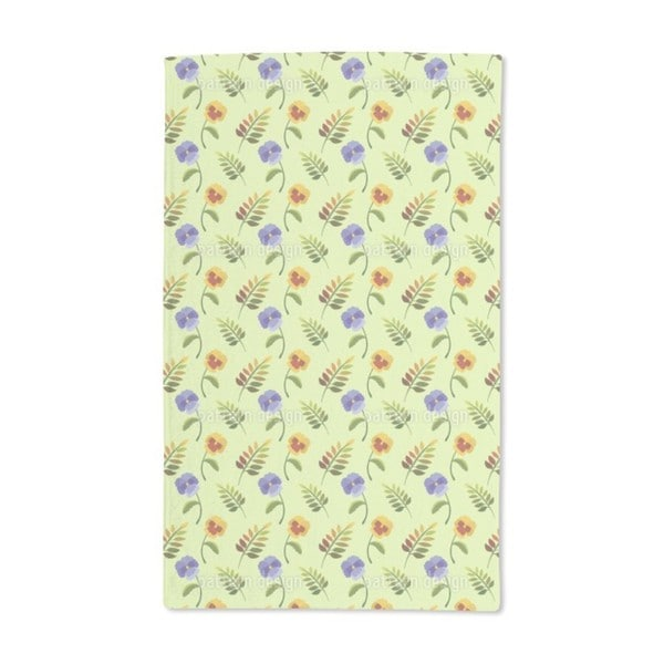 Heartsease in Spring Hand Towel (Set of 2)