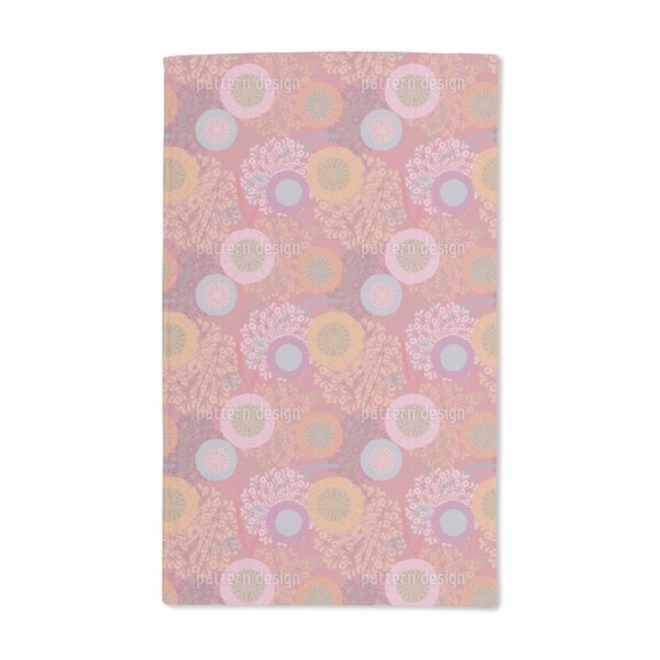 Festival Floral Hand Towel (Set of 2)