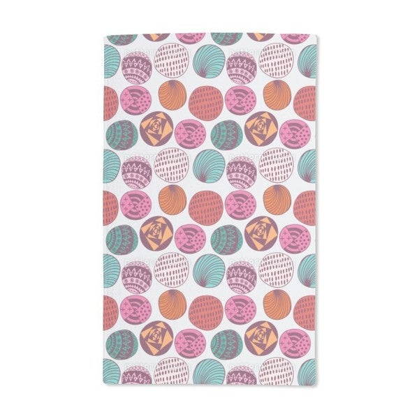 Ethno Bubbles Hand Towel (Set of 2)