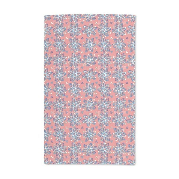 Stone Flowers Hand Towel (Set of 2)