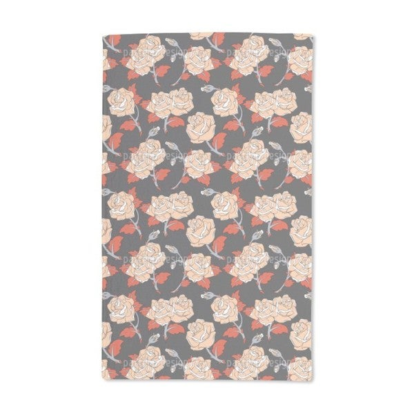 Baroque Roses Hand Towel (Set of 2)