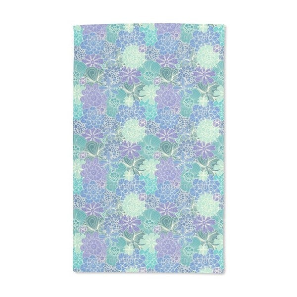 Flowers For Rusalka Hand Towel (Set of 2)