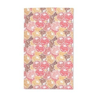 Rose Soaps Hand Towel (Set of 2)