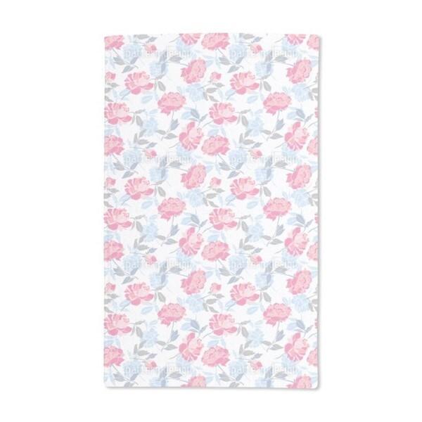 Snow Peony Hand Towel (Set of 2)