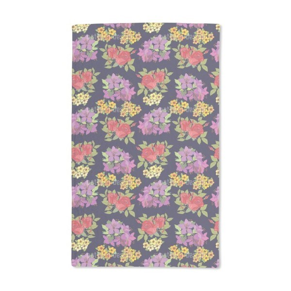 Pick a Flower Hand Towel (Set of 2)