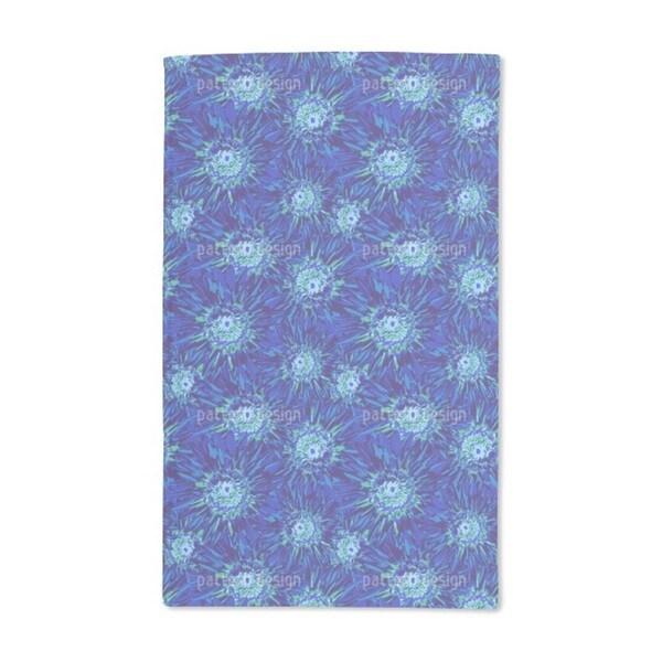 Pop Art Flowers Hand Towel (Set of 2)