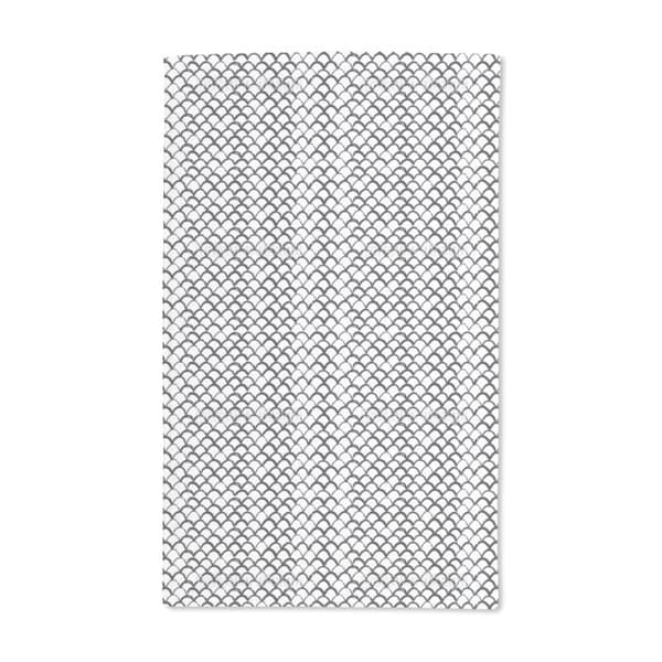 Drawn Scales Hand Towel (Set of 2)