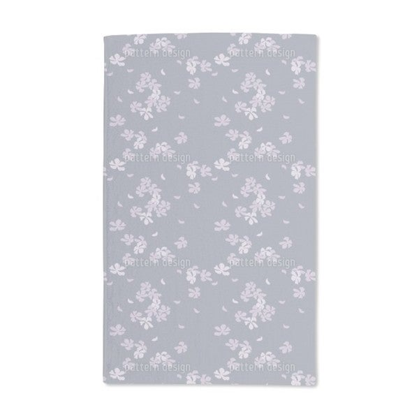 Cherry Blossoms in the Wind Hand Towel (Set of 2)