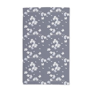 Cherry Blossoms at Night Hand Towel (Set of 2)