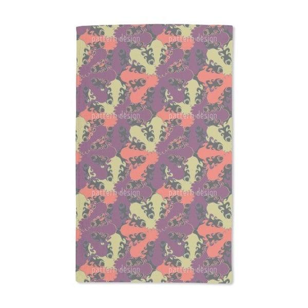 Floral Plaids Hand Towel (Set of 2)